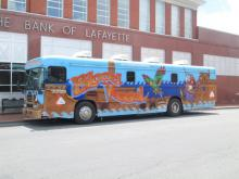 The Blood Assurance BloodMobile at The Bank of LaFayette